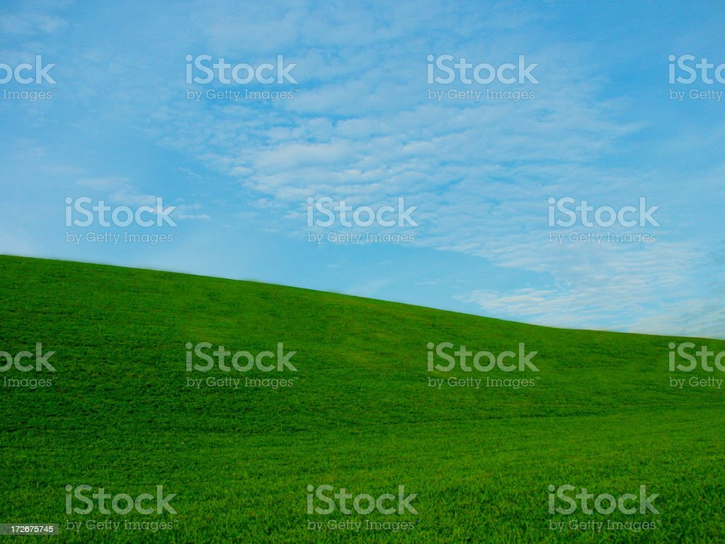Rolling Hills royalty-free stock photo
