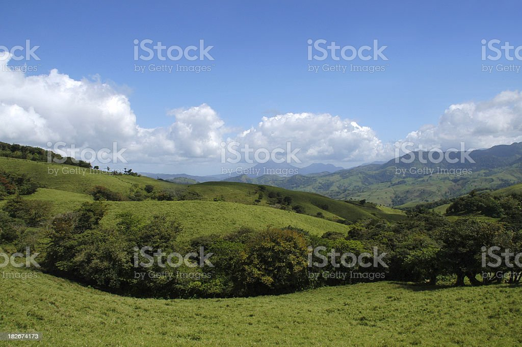 Rolling Hills Scenic royalty-free stock photo