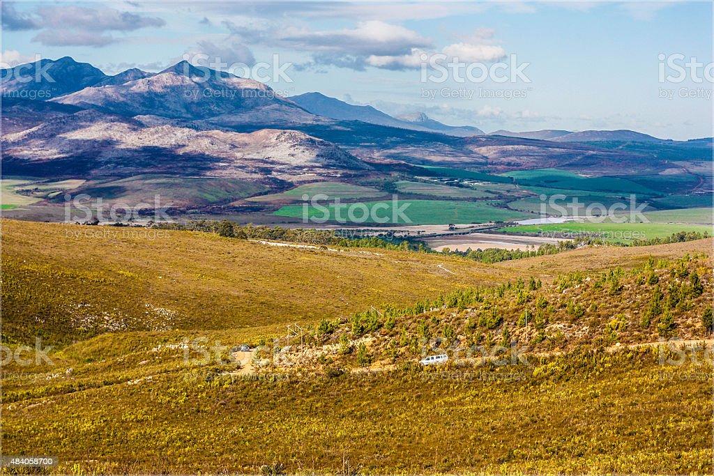 Rolling Landscape stock photo