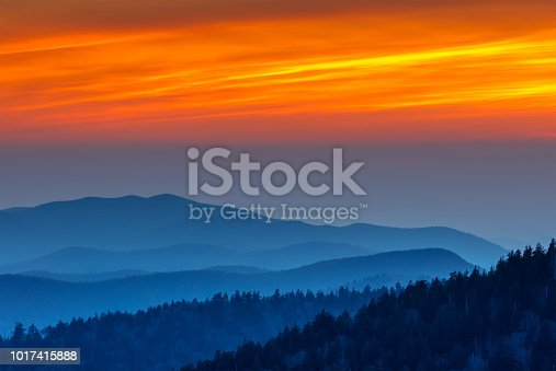 Great Smoky Mountains National Park, Clingmans Dome, Tennessee