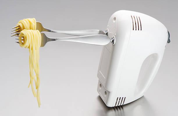 Rolling Spaghetti zu stecken die schnelle Fahrt – Foto