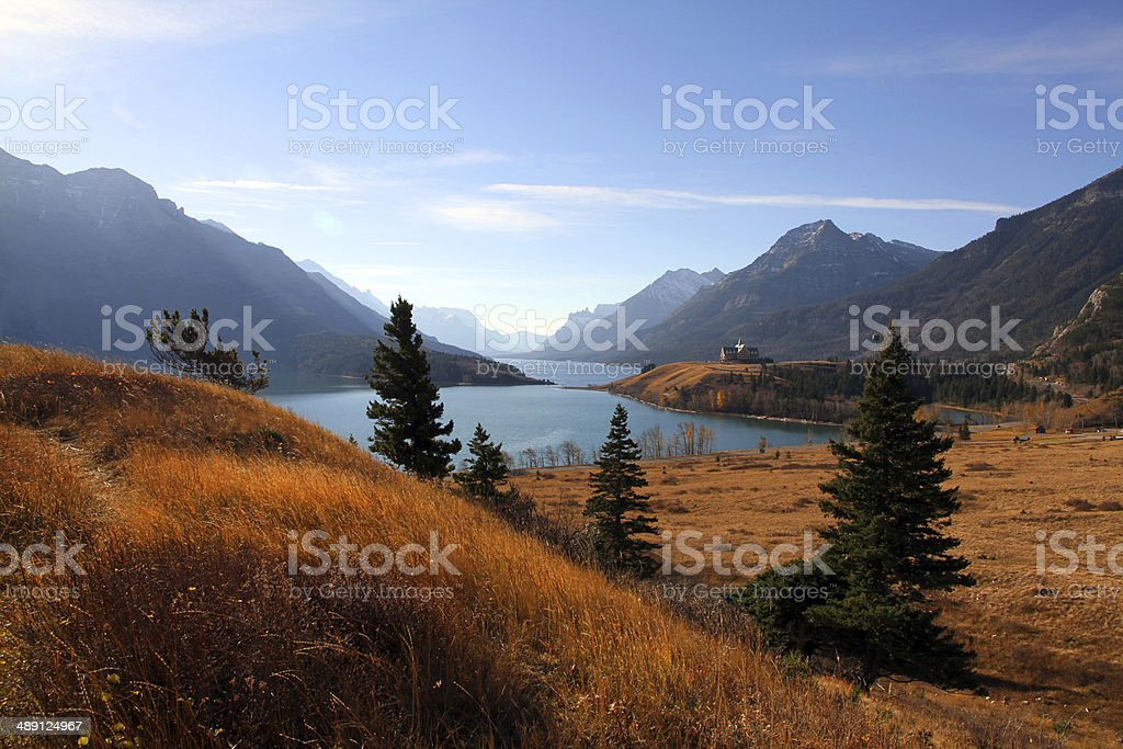 Rolling to Mountains stock photo