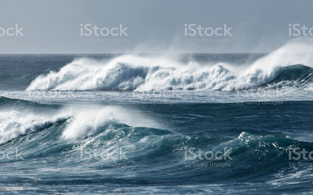 Rolling Waves stock photo