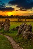 Rollright Stones Oxfordshire