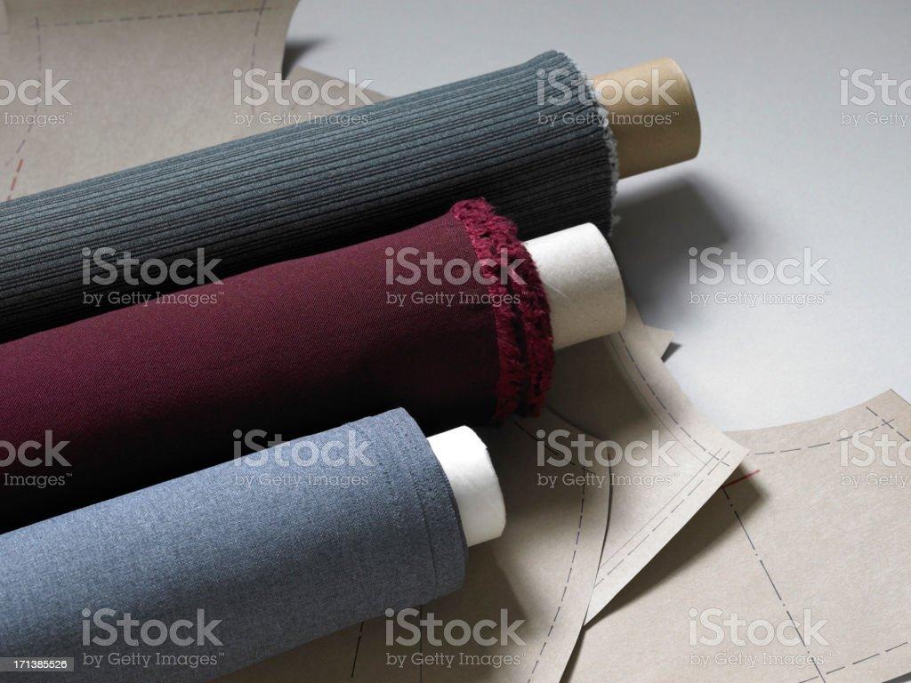 - Material rolls Lizenzfreies stock-foto
