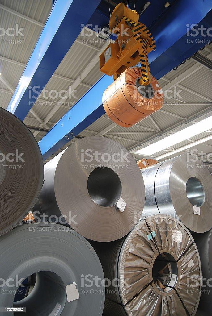 Rollen Blatt steel – Foto
