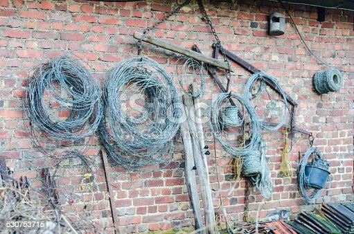 486568999istockphoto Rolls of wire 530753715