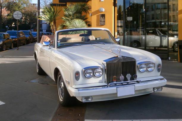 Rolls Royce Corniche II stock photo