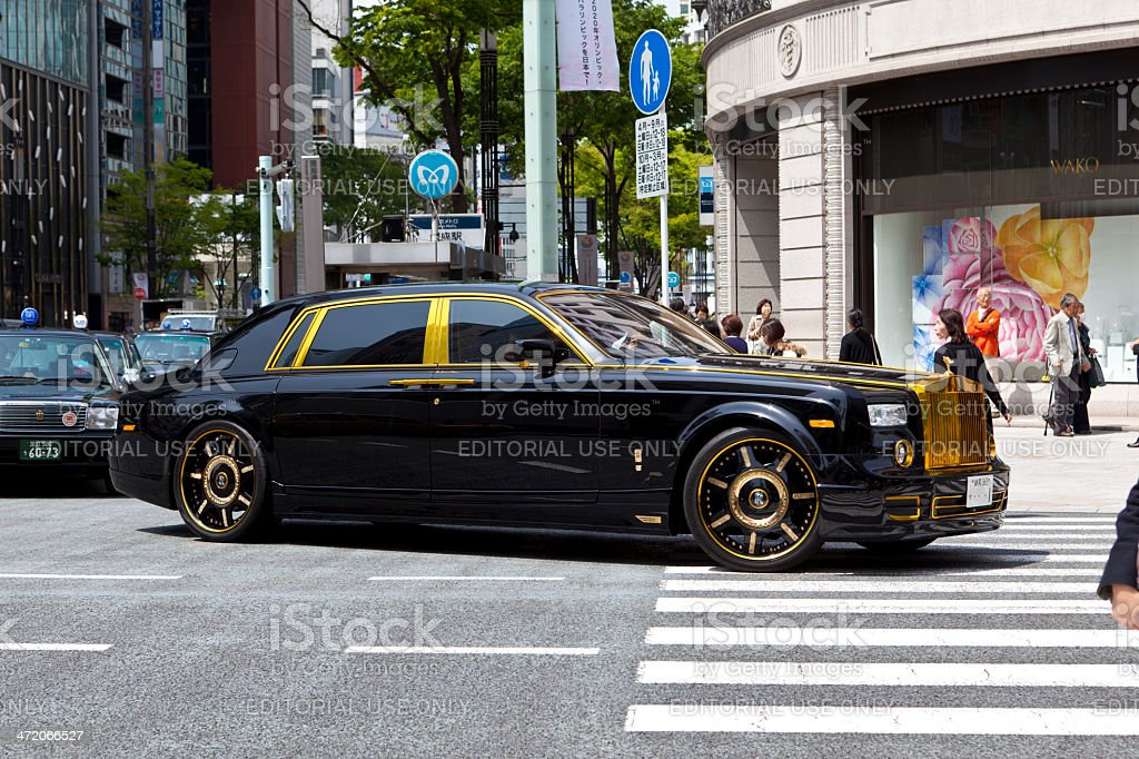 Rolls Royce Phantom stock photo
