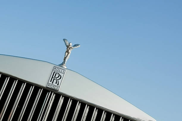 Rolls Royce stock photo