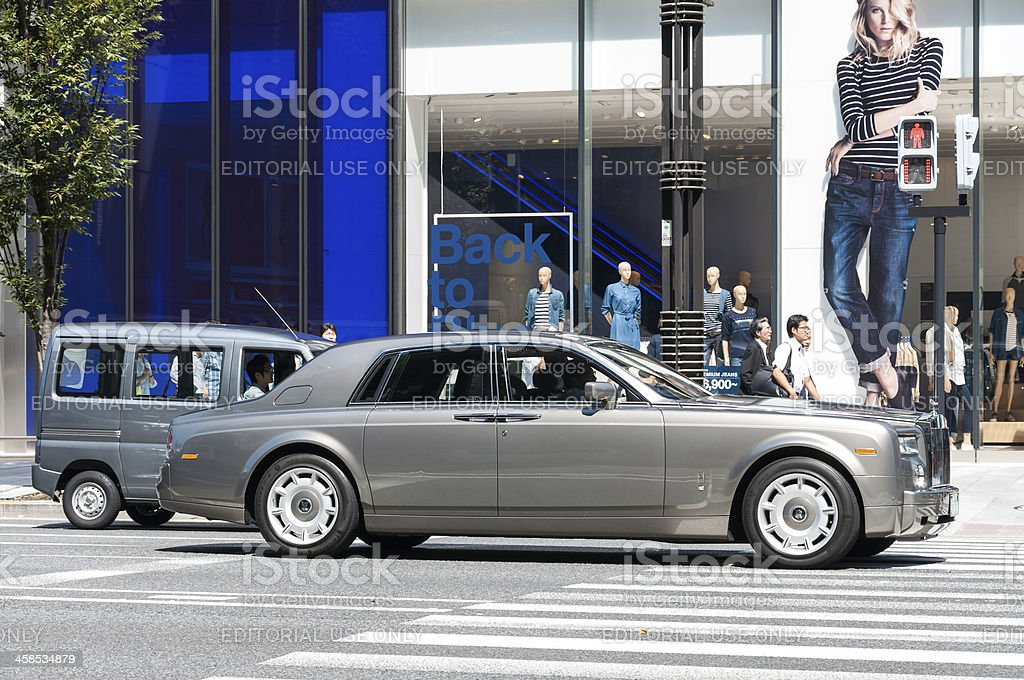 Rolls Royce royalty-free stock photo