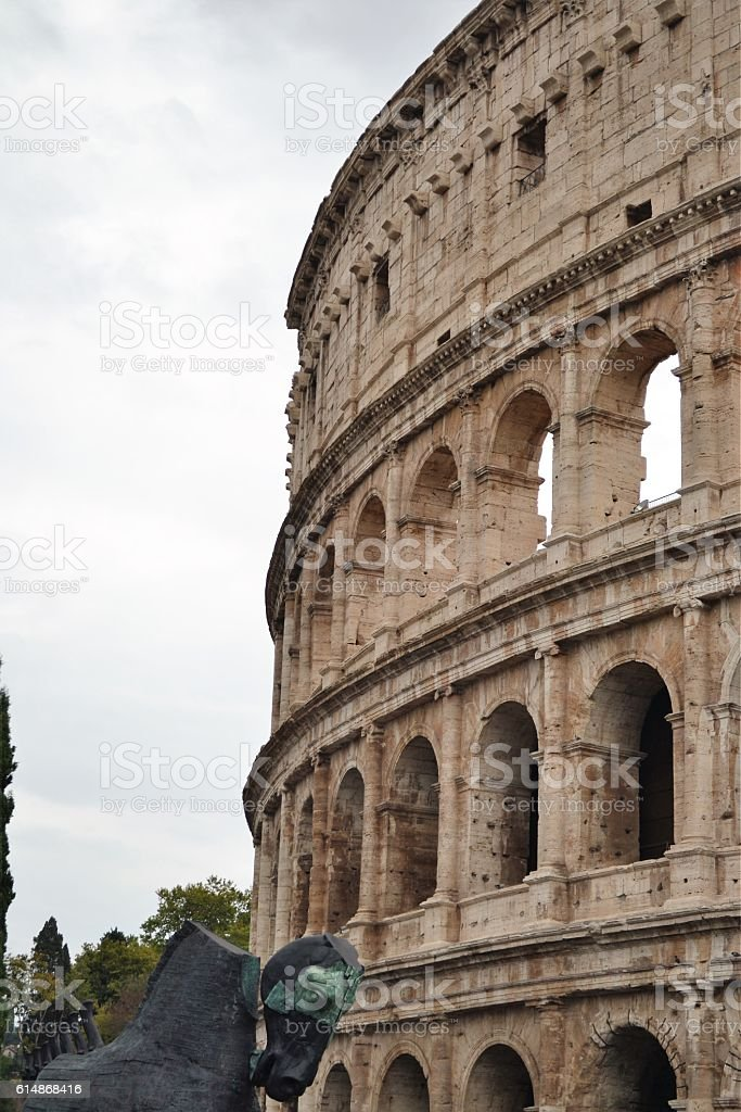 Roma, Colosseo stock photo