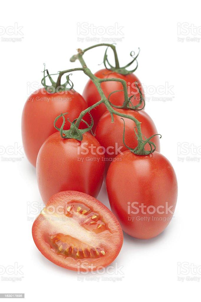Roma Tomato stock photo