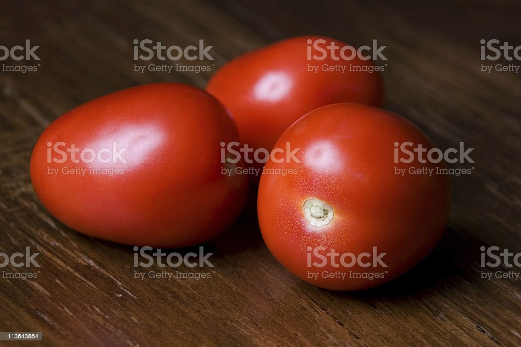 Roma Tomatoes royalty-free stock photo