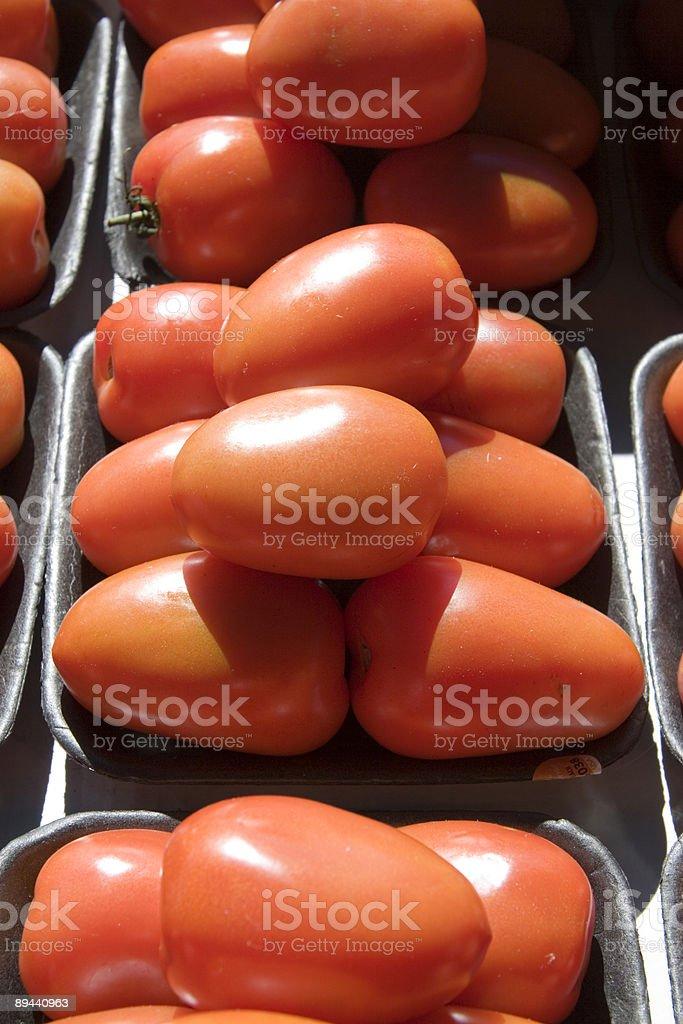 Roma tomates-Vertical photo libre de droits