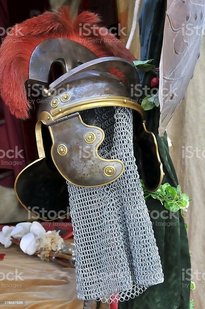 Roman accessory royalty-free stock photo