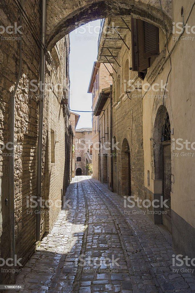 Roman alley royalty-free stock photo