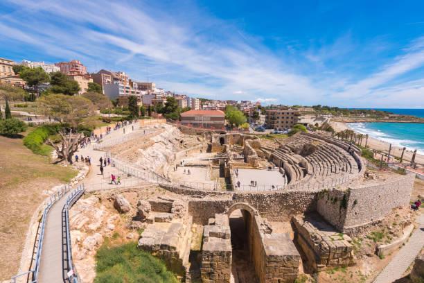 Römisches Amphitheater, Tarragona, Costa Dorada – Foto