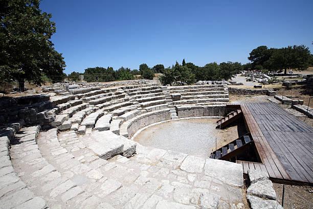 Römisches Amphitheater, Troy – Foto