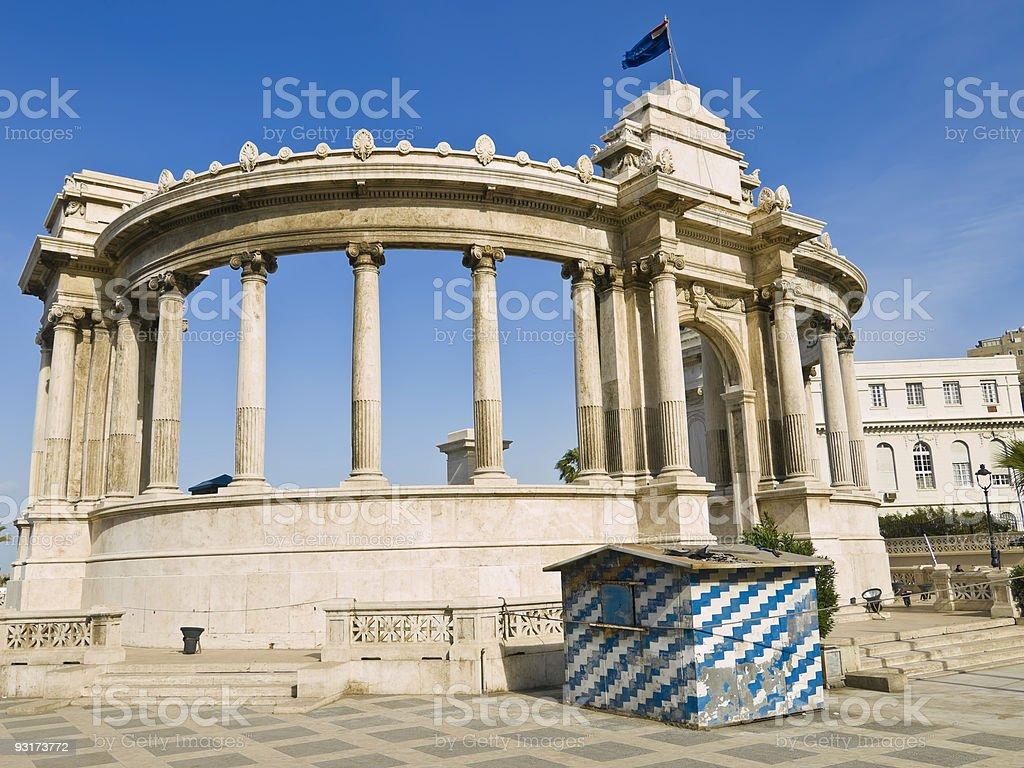 Roman Ampitheatre, Alexandria royalty-free stock photo