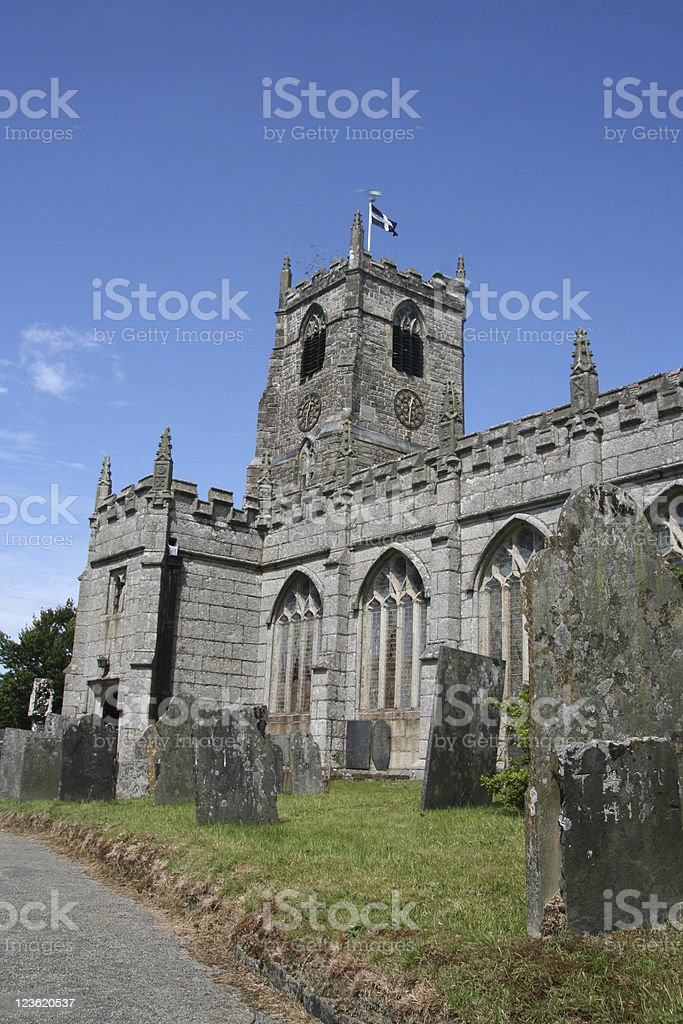 Roman ancient church England royalty-free stock photo