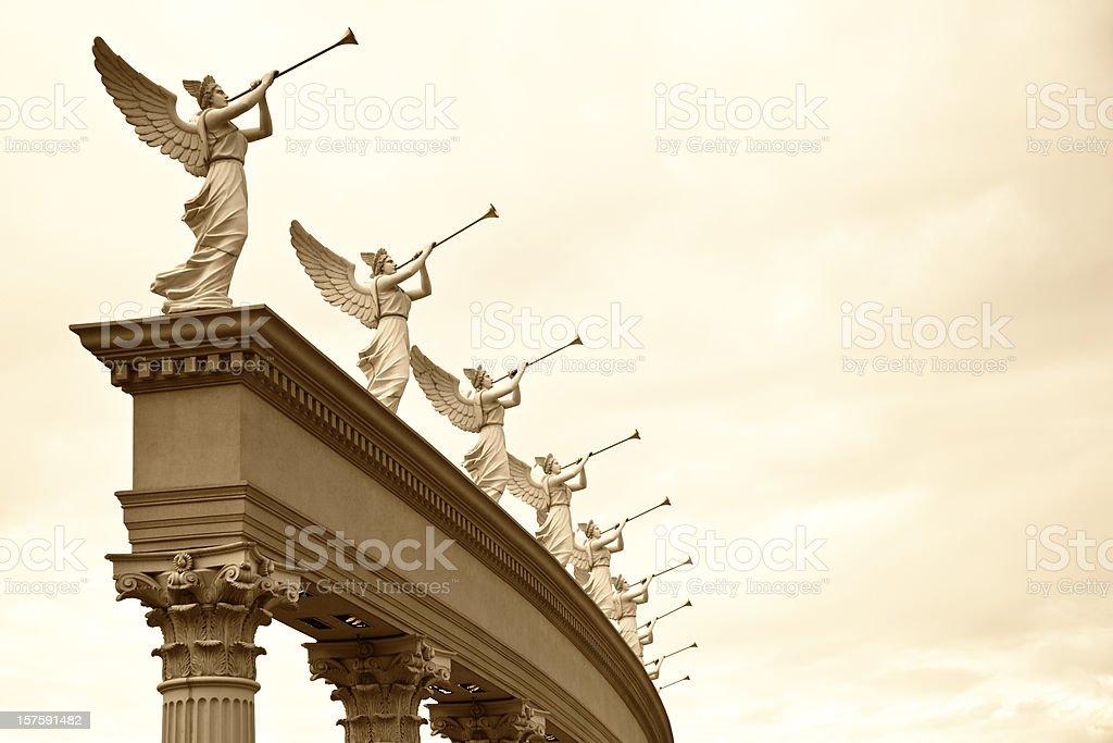 Roman angelo - Foto stock royalty-free di Ambientazione esterna