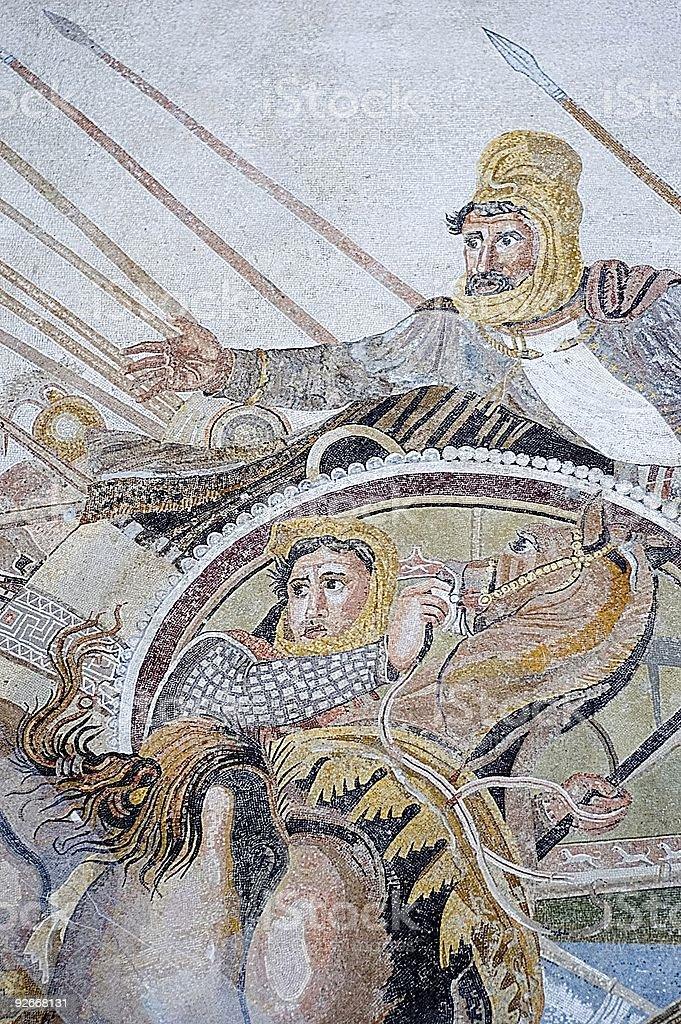 Roman antiquites stock photo