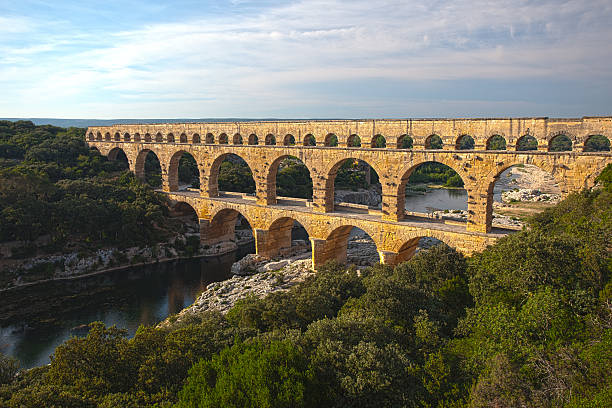 Römischen Aquädukts Pont du Gard – Foto