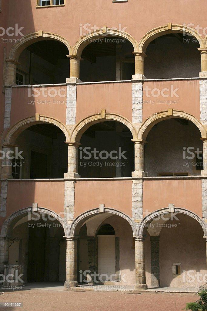 Roman arch royalty-free stock photo