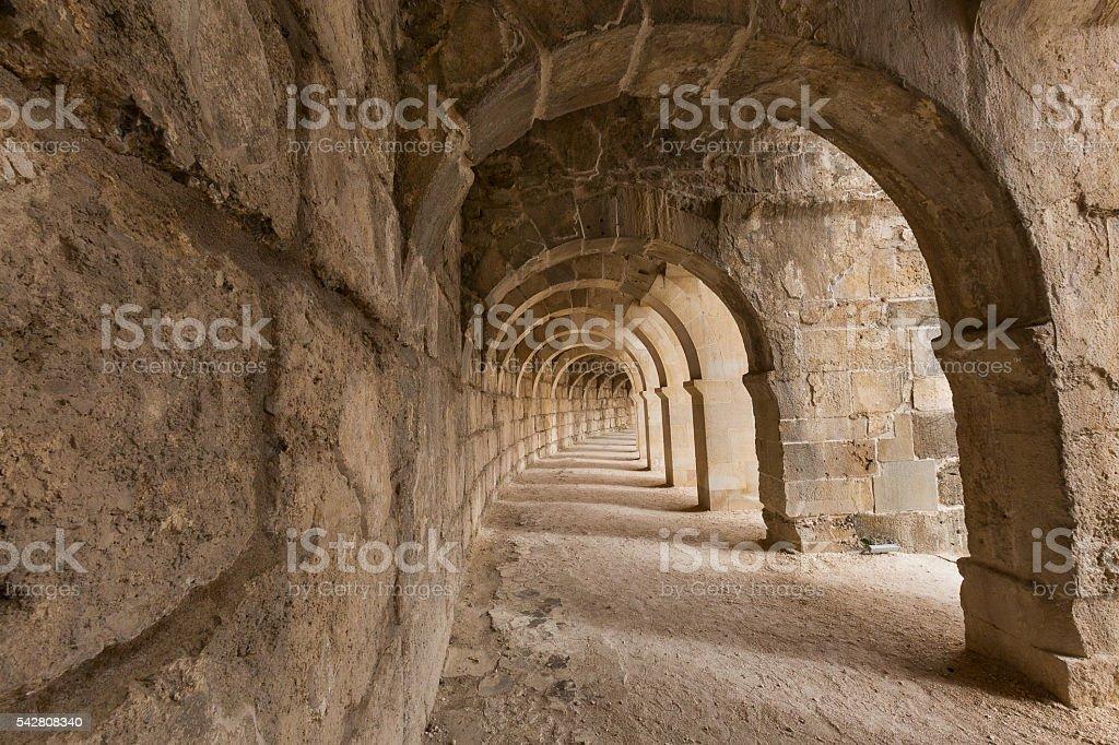Roman Arches stok fotoğrafı