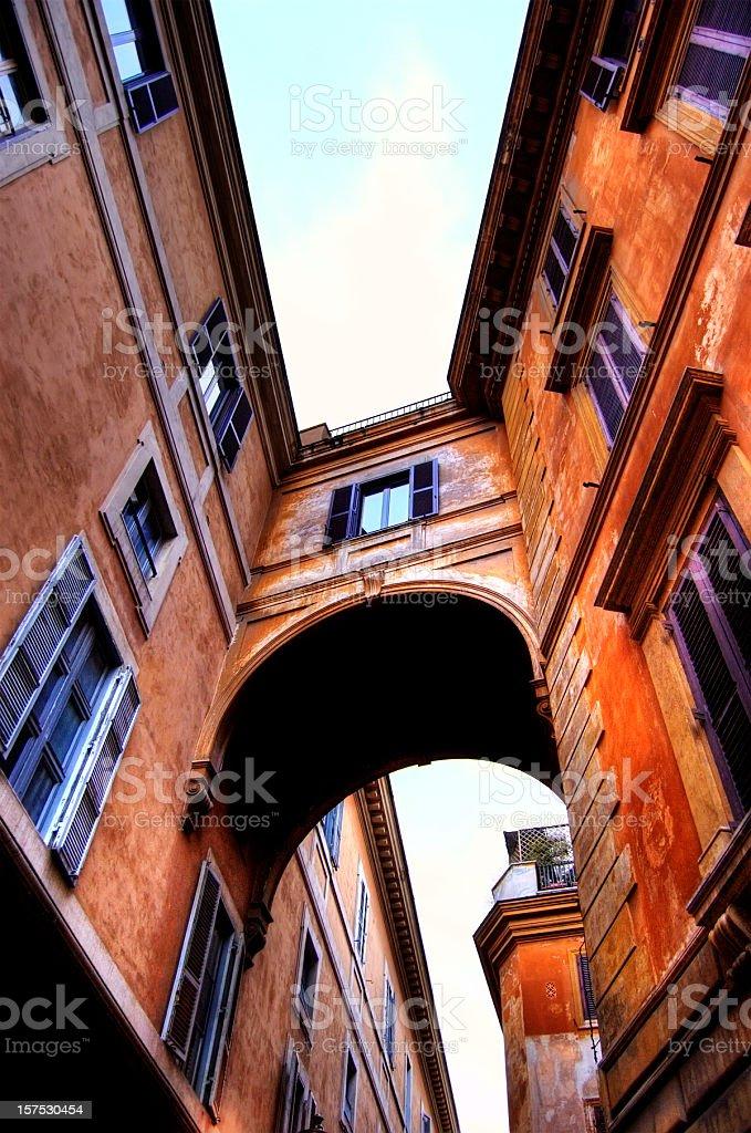 Roman Architecture, Italy royalty-free stock photo