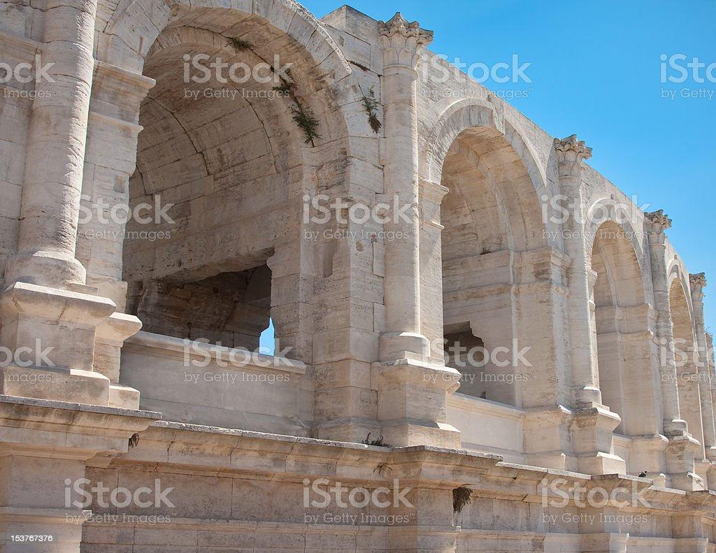 Roman Arena royalty-free stock photo