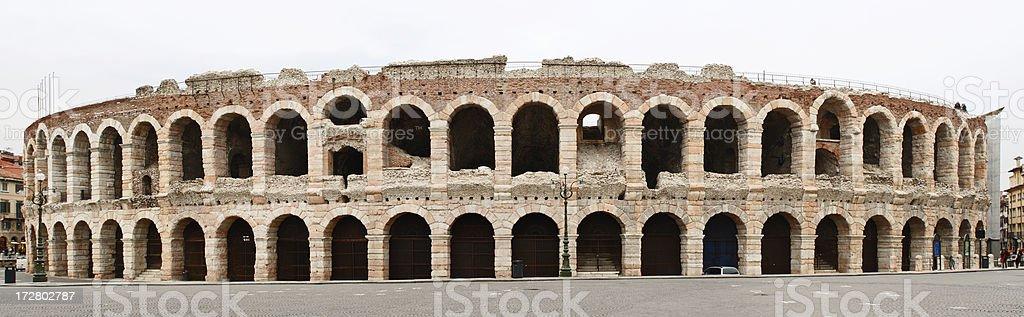 Arena romana - foto stock
