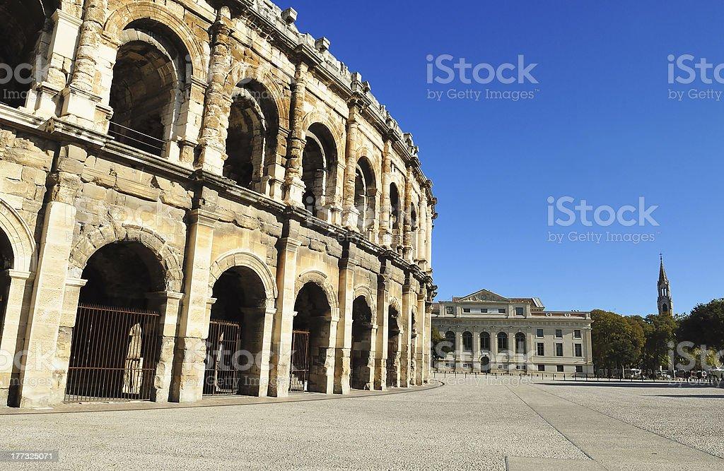 Roman arena stock photo