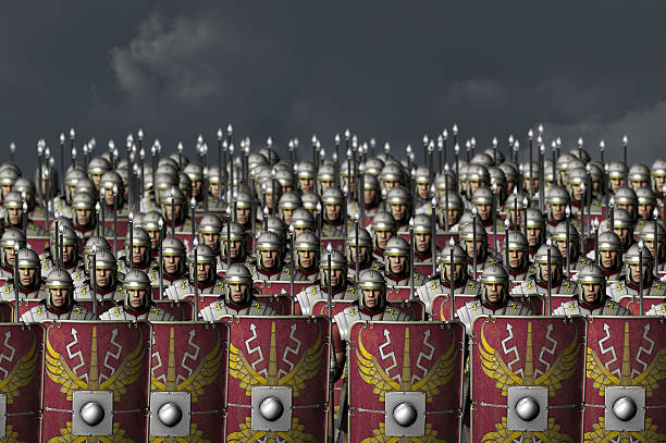 roman army - roman stock photos and pictures