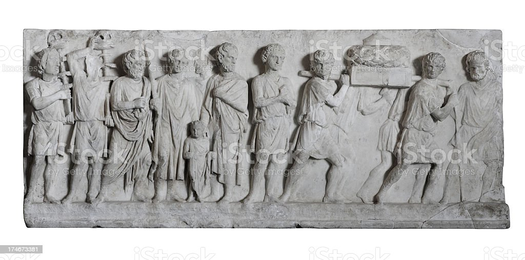 Roman Artifact royalty-free stock photo