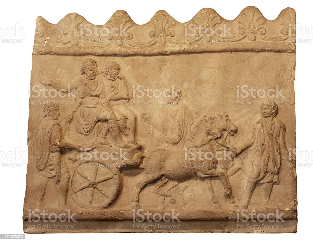 Roman Artifact royalty-free stock photo