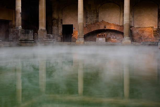 Roman Bath Roman Bath in England. bath england stock pictures, royalty-free photos & images