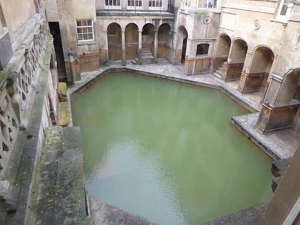 Roman Bath, taken in Bath, England Roman Bath, taken in Bath, England roman baths england stock pictures, royalty-free photos & images