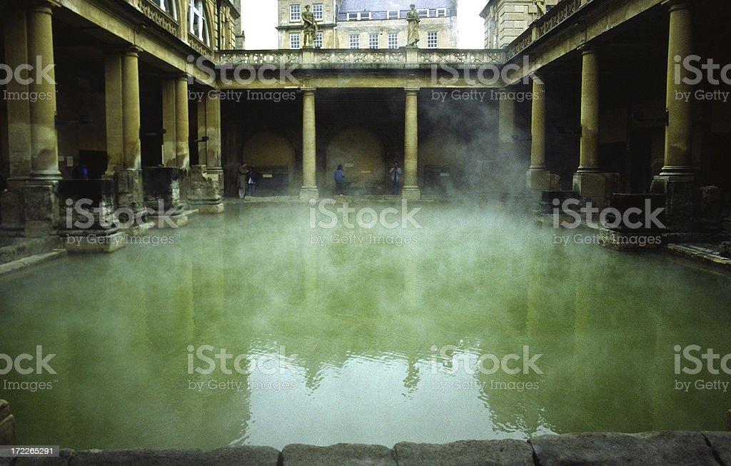 Baños romanos - foto de stock