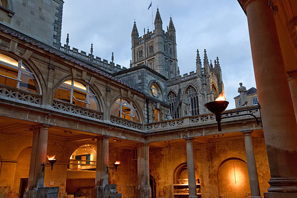 Roman Baths  roman baths england stock pictures, royalty-free photos & images
