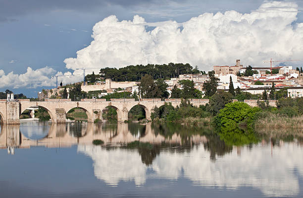 Puente romano de Badajoz, España - foto de stock