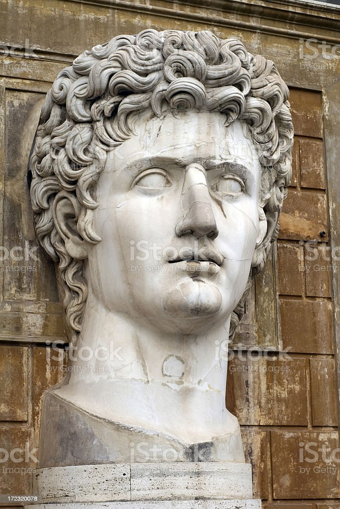 Roman Bust royalty-free stock photo