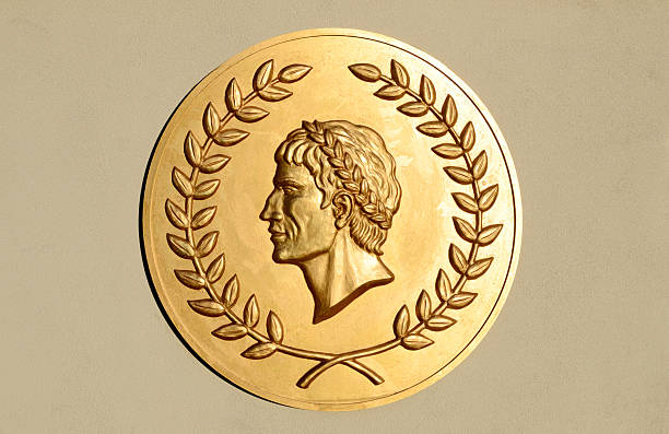 Roman Caesar Insignia stock photo