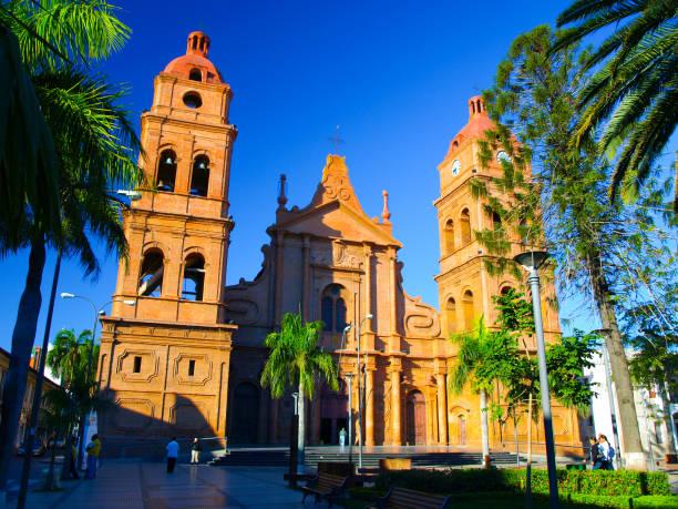 玻利維亞聖克魯斯德拉謝拉羅馬天主教大主教管區 - 玻利維亞 個照片及圖片檔