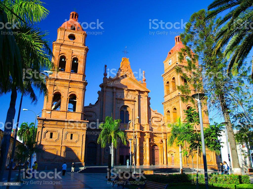 Roman Catholic Archdiocese of Santa Cruz de la Sierra in stock photo