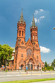 istock Roman catholic church of St. Family. 1269164808