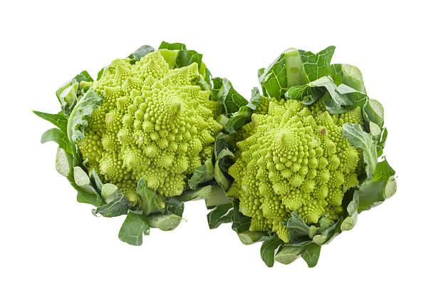 Roman cauliflower stock photo
