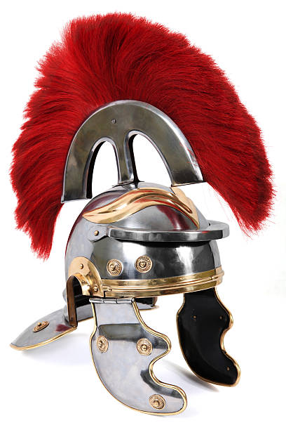 roman centurion helmet - roman stock photos and pictures