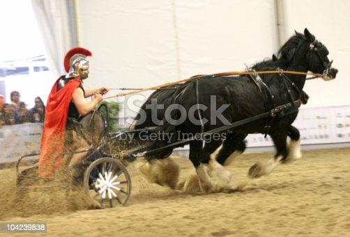 istock Roman Chariot Racing 104239838